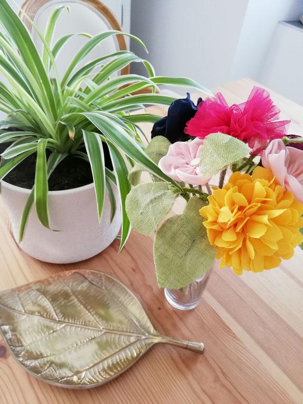 Des couleurs et des fleurs