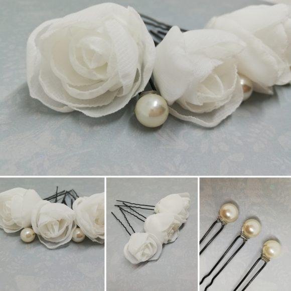 Des fleurs pour la mariée